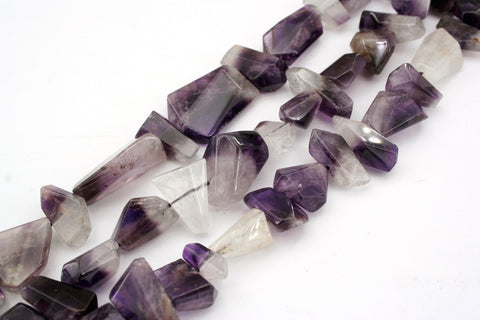 Bio Amethyst unshaped beads (ETB01335)