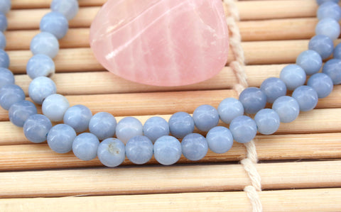 Owyhee Blue Opal 5.5-6.5mm round beads (ETB00870)