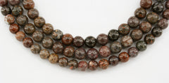 Dinosaur Bone 4.5-5.5mm round beads (ETB01181)