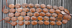 Spiderweb Jasper 25-30mm freeform beads (ETB00573)