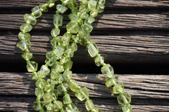 Peridot  AB grade 3-5mm faceted beads (ETB00174)