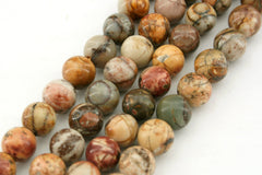 Cherry Creek 6.5-7mm round beads (ETB01251)