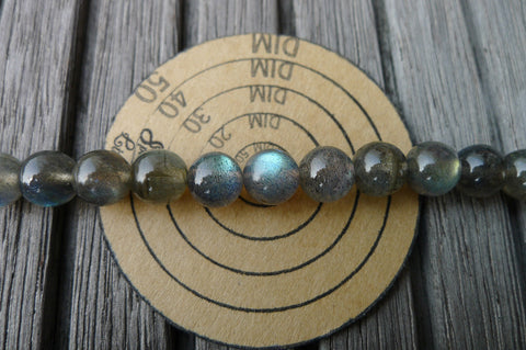 (SPL00129) Labradorite 7.5-8mm round beads