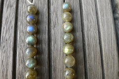 (SPL00128) Labradorite 10.5-11mm round beads