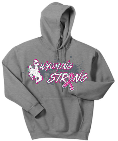 HD019 Wyoming Strong Hoodie - Standard