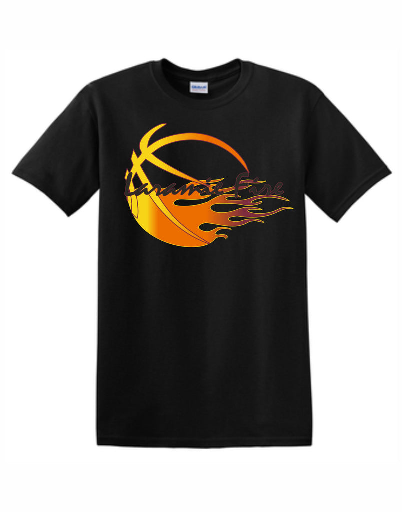 A - Laramie Fire Black T Shirt