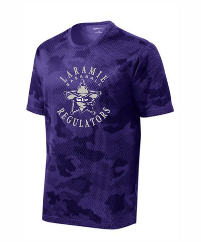 J1 - Laramie Regulators Sport-Tek® CamoHex Tee