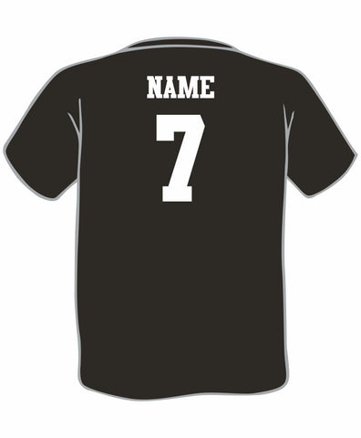 N3 - Laramie Regulators Add Name and Number to T-Shirt or Hoodie