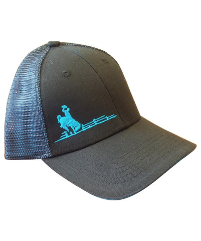 Wyoming Pride Hat - Blue Accent