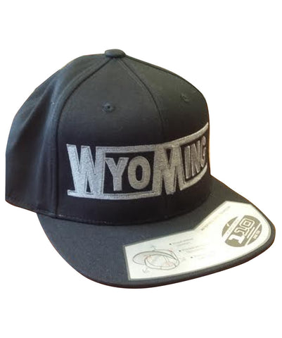 Wyoming - Flat Bill Hat
