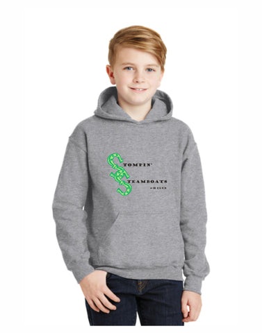 F - Stompin' Steamboat Youth Hoodie