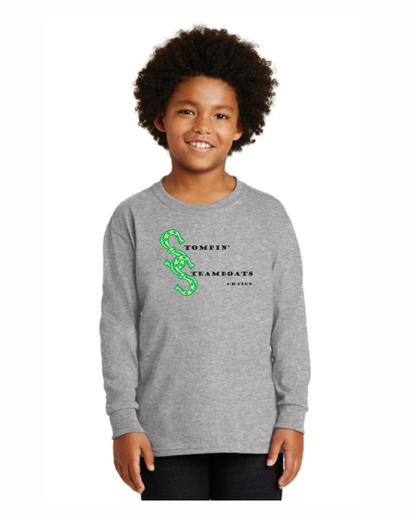 E - Stompin' Steamboat Youth Long Sleeve