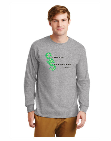B - Stompin' Steamboat Long Sleeve