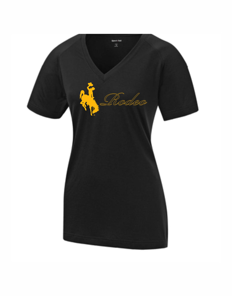 H - Rodeo Ladies V-Neck