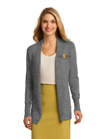 I - Ladies Open Front Cardigan Sweater