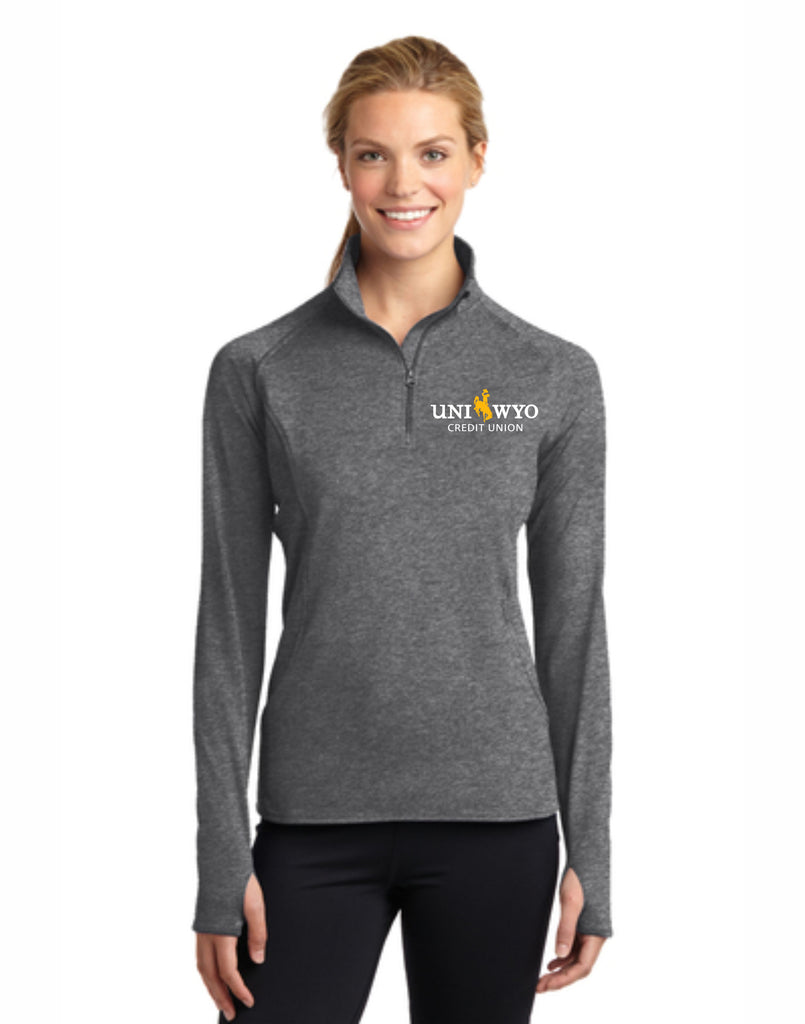 K - Ladies Sport-Wicking Stretch 1/2 Zip Pullover