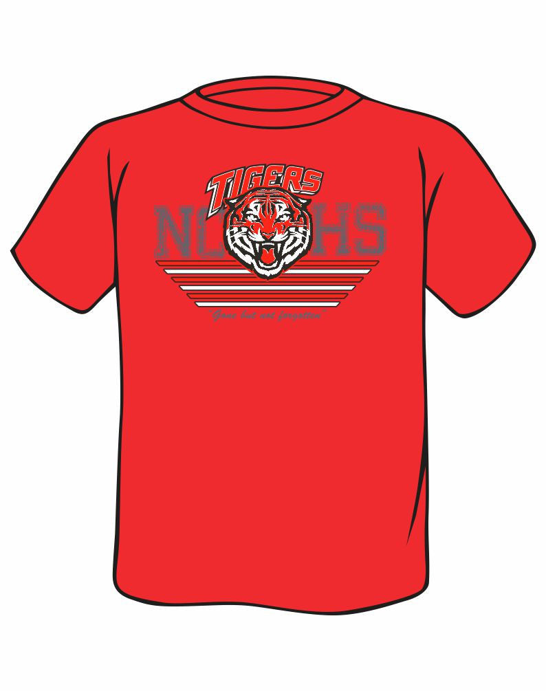 L1 - Unisex T-Shirt Red (Pick Up at Golf Course the Day of the Event)
