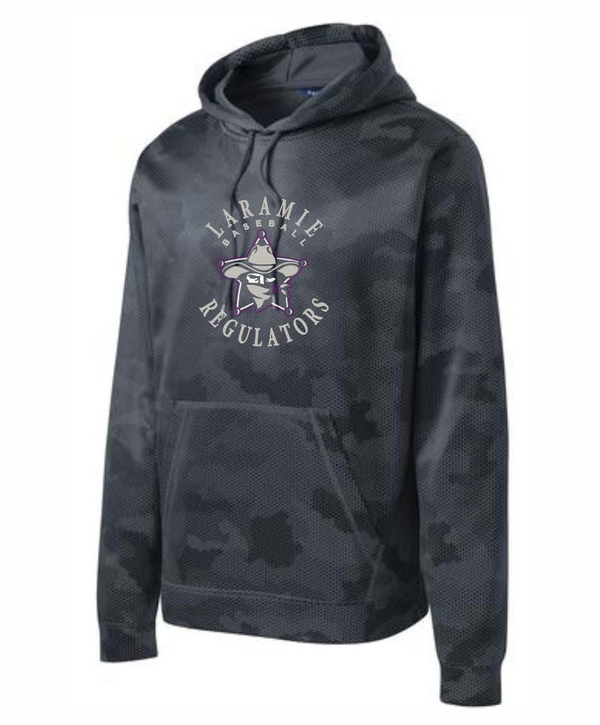 H - Laramie Regulators Sport-Tek® Sport-Wick® CamoHex Fleece Hooded Pullover