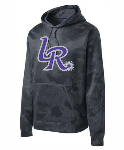 H1 - Laramie Regulators Sport-Tek® Sport-Wick® CamoHex Fleece Hooded Pullover