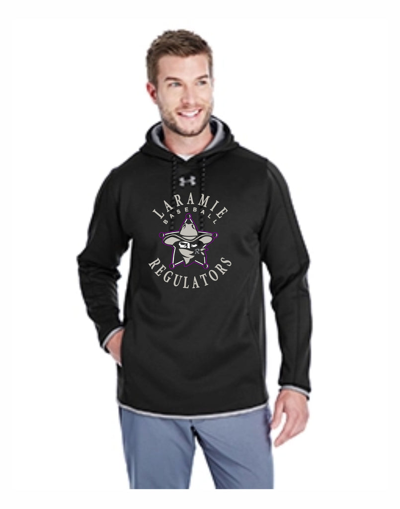 J - (BACKORDER) Regulators Under Armour Men's Double Threat Armour Fleece® Hoodie