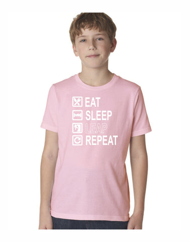 E4 - Leap Checklist Youth T (Light Pink)