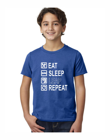 E3 - Leap Checklist Youth T (Vintage Royal)