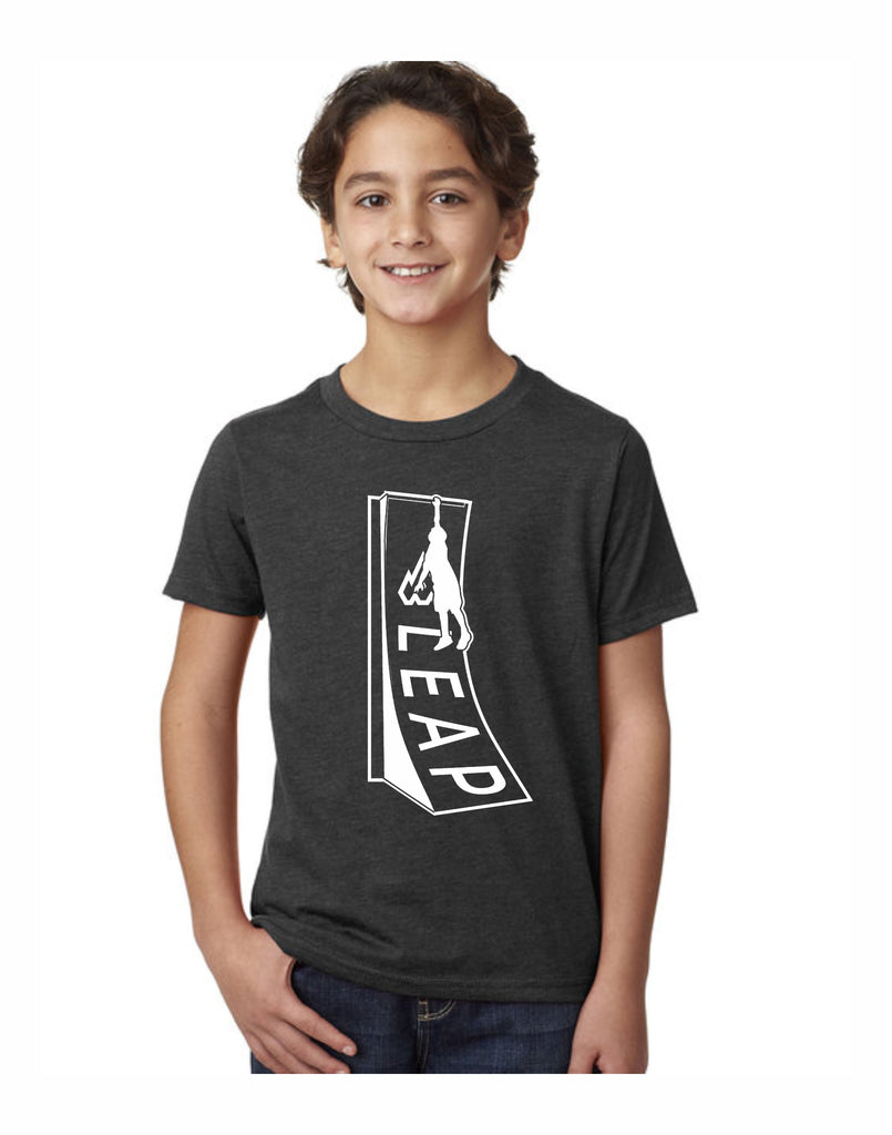 H2 - Leap Wall Youth T (Graphite)
