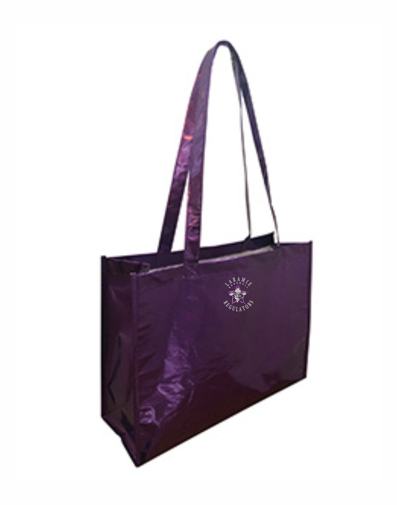 F - Laramie Regulators Metallic Deluxe Tote Jr.