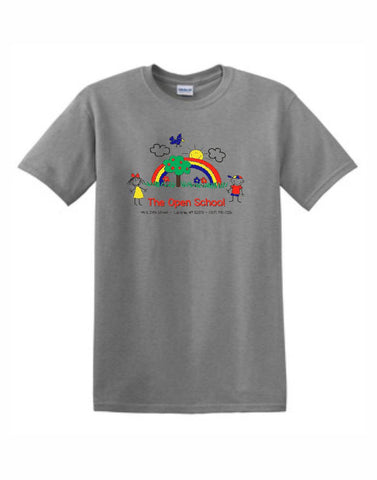A - Open School Gildan® - Heavy Cotton™ 100% Cotton T-Shirt