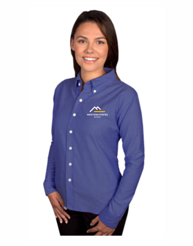 A - WSB Ladies Long Sleeve Dress Shirt
