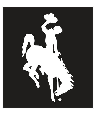 D006 Wyoming Bucking Horse Decal 4""
