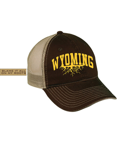 H020 Roots - Brown Wyoming Hat