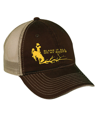 H017 Roots - Brown BH Hat