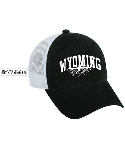 H016 Roots - Black Wyoming Hat