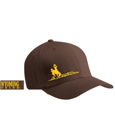 H038 Wyoming Pride Brown Hat