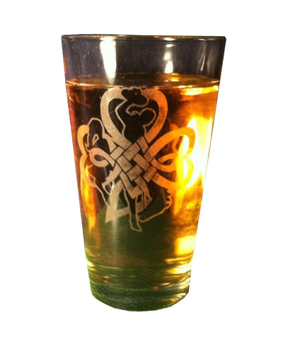 A006 Buckin' Irish Pint Glass Set of 2