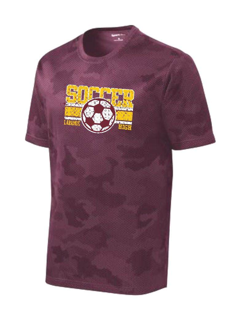 F - LHS Soccer Maroon Camo Hex