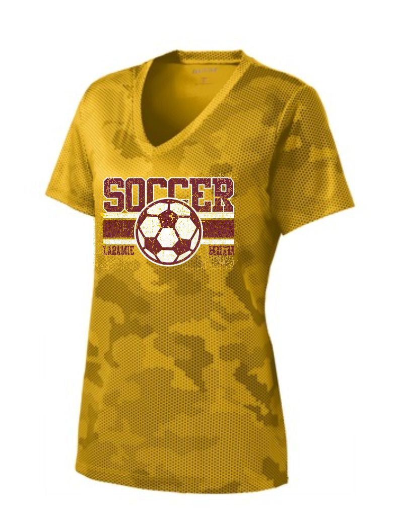 G - LHS Soccer Ladies Gold Camo Hex