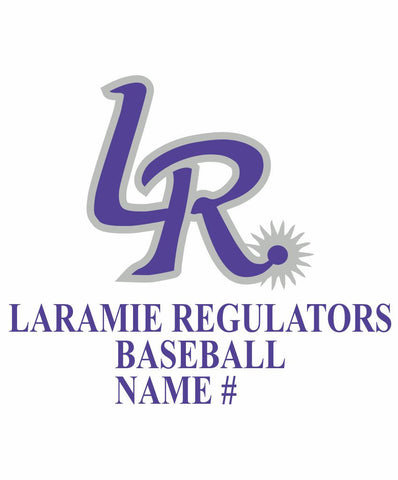 M - Laramie Regulators Car Decal