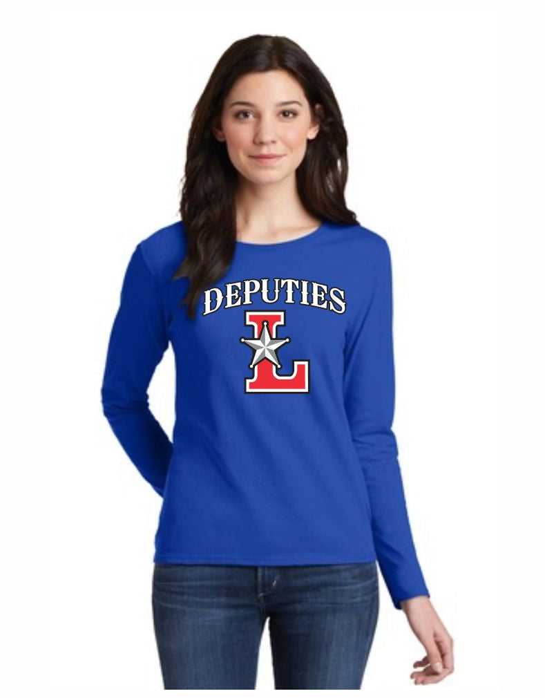 C - Laramie Deputies Ladies Long Sleeve - Royal