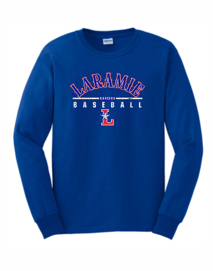C - Laramie Rangers Basic Long Sleeve - Royal