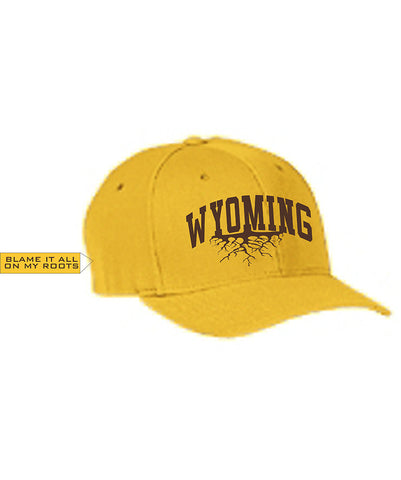 H022 Roots - Gold Wyoming Hat