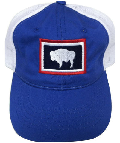 H043 Wyoming State Flag Hat - Blue
