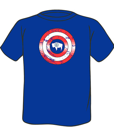 T013 Hero - Wyoming Shield - Toddler/Youth