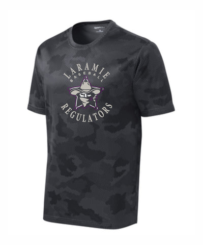 J3 - Laramie Regulators Sport-Tek® CamoHex Tee