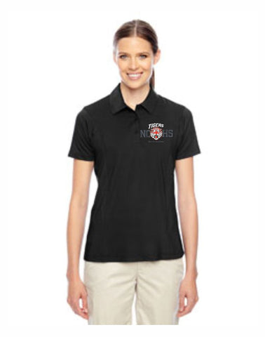 D - Ladies's Golf Polo - Black