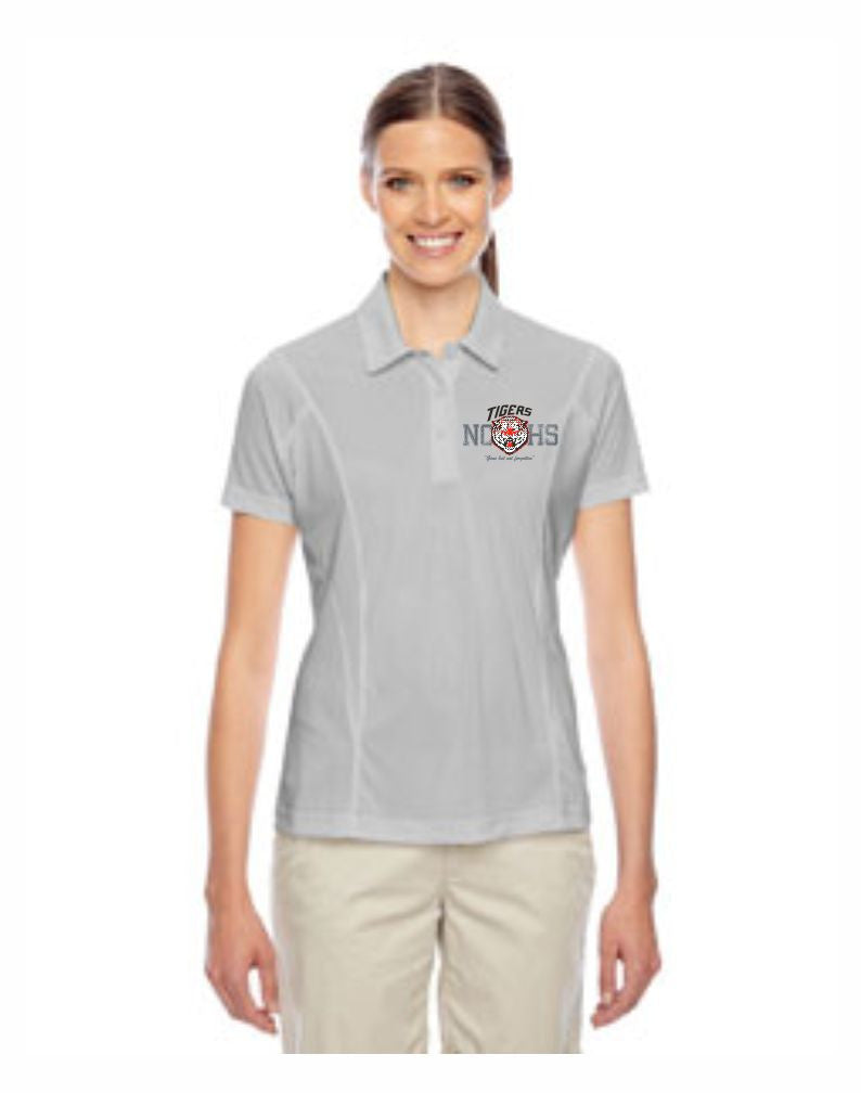 F - Ladies's Golf Polo - Silver