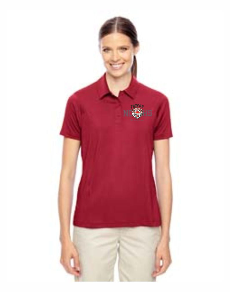 E - Ladies's Golf Polo - Red