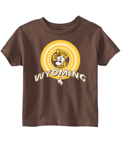 T028 Toddler Looney WY Shirt