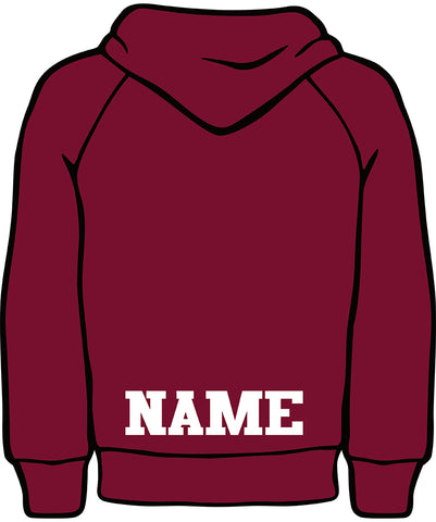 E - Add Name to Hoodies